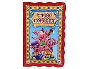 Детская книга-раскладушка «Три поросёнка», А7391Р, купить