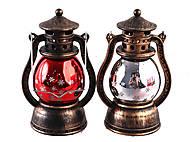 """Сувенир светящийся LED """"Фонарь Снеговик""""  2 вида, ZF-047, цена"""