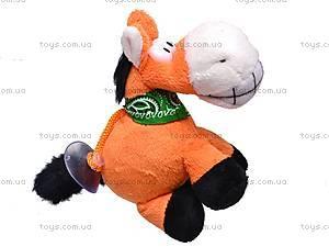 Сувенирная лошадка с присоской, 520427, цена