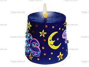 Свечка своими руками «Звездная ночь», 9007-03, фото