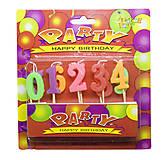 Свечи для торта «Цифры», 6840, toys