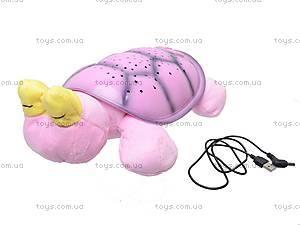 Светильник «Черепаха - звездное небо», 699-4, toys.com.ua