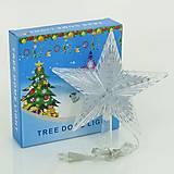 Светодиодная звезда на елку, 23 см, 01238, купить