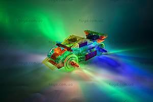 Светодиодный конструктор 8 в 1 «Cпортивный автомобиль», 1410b, купити