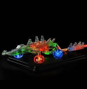 Светящийся конструктор «3D панель Дракон», 1070b, отзывы