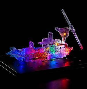 Светящийся конструктор «3D панель Дракон», 1070b, цена