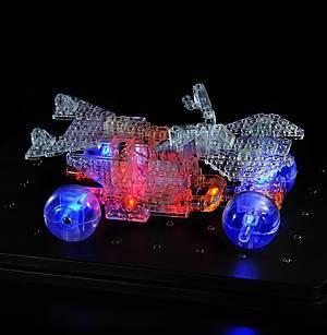 Светящийся конструктор «3D панель Дракон», 1070b, детские игрушки