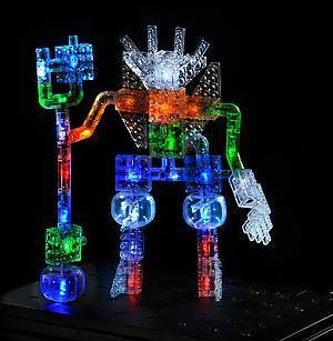 Светящийся конструктор «3D панель Дракон», 1070b, toys.com.ua