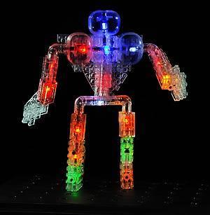 Светящийся конструктор «3D панель Дракон», 1070b, toys