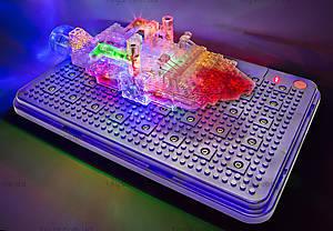 Светящийся конструктор «3D панель Дракон», 1070b, набор