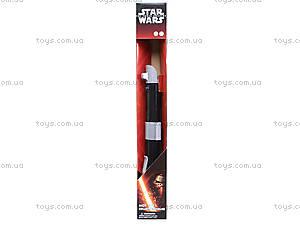Световой меч «Звёздные Войны» со светом и звуком, 862209, игрушки