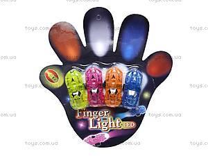 Светящиеся лампочки на пальцы, разноцветные, Y123