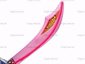 Светящийся меч, музыкальный, 432A-4BRG, фото