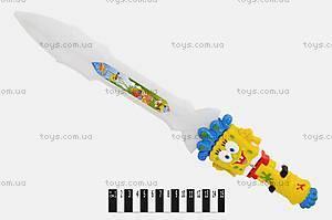 Светящийся меч, с героями мультфильмов, 6531