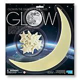 Светящиеся наклейки «Луна и звезды» 13 штук, 00-05215
