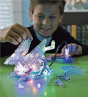 Светящийся конструктор «3D панель Дракон», 1070b, купить игрушку