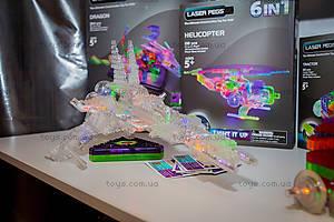 Светящийся конструктор 16 в 1 «Космический корабль», 9030b, toys.com.ua