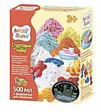 Светящийся песок Angel Sand белый 0,5 л., МА01711В, детские игрушки