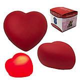 """Светяшка """"Сердце"""" красное, SV27, детские игрушки"""