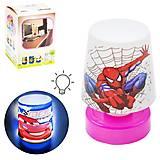 """Светильник-ночничок """"Человек-паук"""", SMP73, интернет магазин22 игрушки Украина"""