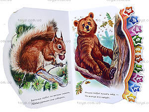 Книга «Мир зверюшек для малышей. В лесу», М213010Р, фото