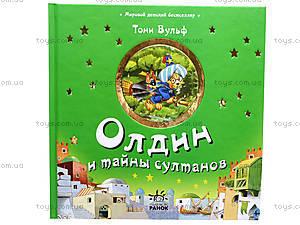 Детская книга «Олдин и тайны султана», Я18274Р