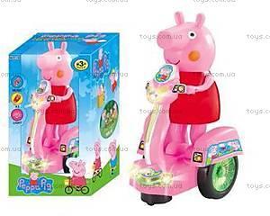 Детская игрушка «Свинка Пеппа на мотоцикле», PP-011B, купить