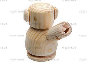 Свистулька деревянная «Мишка», 171903, фото