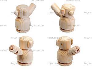 Свистулька деревянная «Мишка», 171903