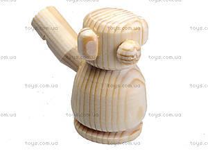Свистулька деревянная «Мишка», 171903, отзывы