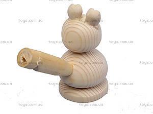 Свистулька деревянная «Заяц», 172028, купить