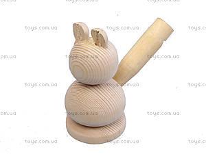 Свистулька деревянная «Заяц», 172028, цена