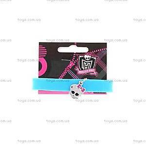 Силиконовый браслет с подвеской Monster High «Френки», 9050762