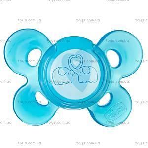 Силиконовая пустышка Physio Comfort, голубая, 72813.21
