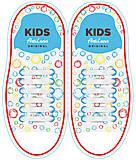 Силиконовые шнурки AntiLaces Kids, KW38, toys