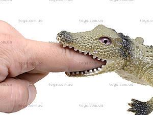 Игрушечный силиконовый крокодил, 33 см, A022P, детские игрушки