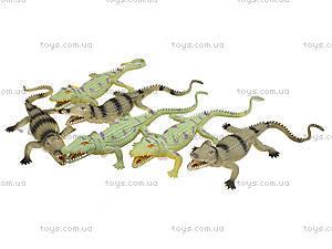 Игрушечный силиконовый крокодил, 33 см, A022P, магазин игрушек