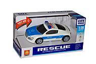 Синее полицейское авто, WY630D, набор