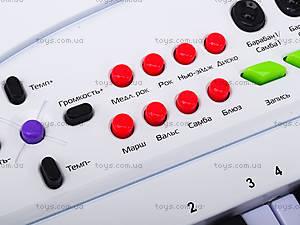 Синтезатор для детей с микрофоном , HS3230B, купить
