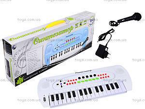 Синтезатор для детей с микрофоном , HS3230B