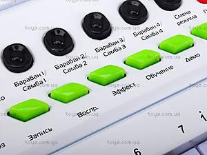 Синтезатор для детей с микрофоном , HS3230B, игрушки
