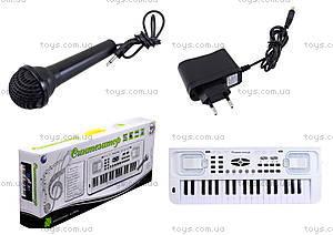 Музыкальная игрушка «Синтезатор» для детей, HS3710C, фото