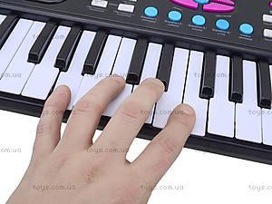 Игровой синтезатор с микрофоном для детей, HS3716A, отзывы