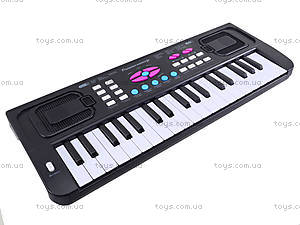 Игровой синтезатор с микрофоном для детей, HS3716A, toys