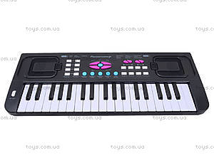 Игровой синтезатор с микрофоном для детей, HS3716A, іграшки