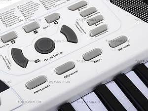 Синтезатор с микрофоном, для детей, HS4916B, купить