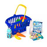 Синяя корзина «Супермаркет», 362 в.2, игрушки