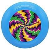 Синяя летающая тарелка фрисби, 0343, іграшки