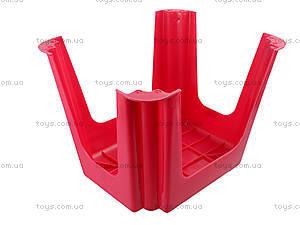 Табурет прямоугольный, красный, ПХ4570 КРАСН, купить