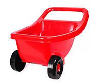 Тачка детская Технок красная, 4258, купить